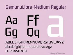 GemunuLibre-Medium