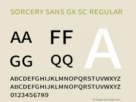 Sorcery Sans GX SC