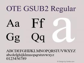 OTE GSUB2