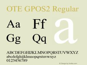 OTE GPOS2