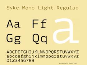 Syke Mono Light