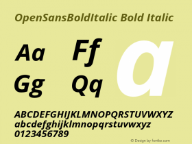OpenSansBoldItalic