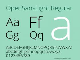 OpenSansLight