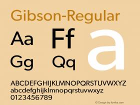 Gibson-Regular