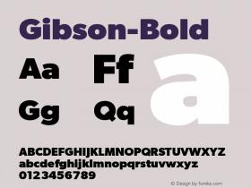 Gibson-Bold