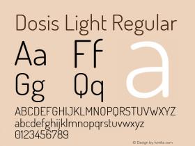 Dosis Light