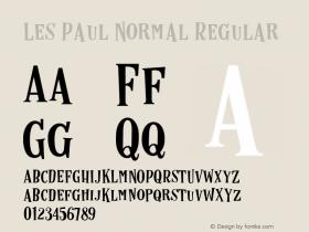 Les Paul Normal
