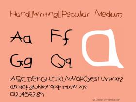 Hand_Writing_Peculiar
