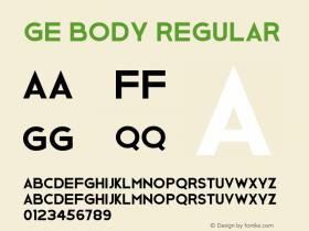 Ge Body