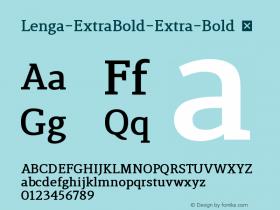 Lenga-ExtraBold-Extra-Bold