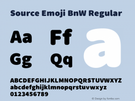 Source Emoji BnW