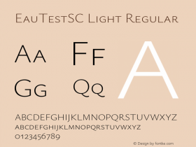 EauTestSC Light