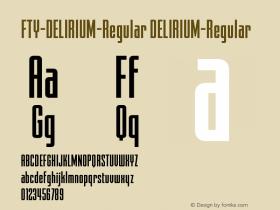FTY-DELIRIUM-Regular