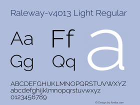 Raleway-v4013 Light