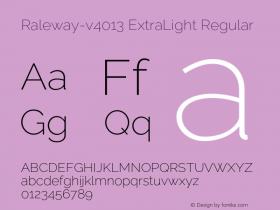 Raleway-v4013 ExtraLight