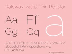 Raleway-v4013 Thin
