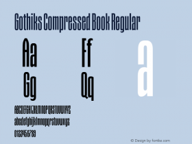 Gothiks Compressed Book