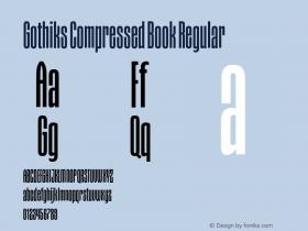 Gothiks Compressed Book