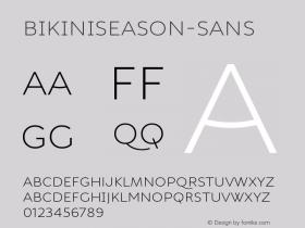 BikiniSeason-Sans