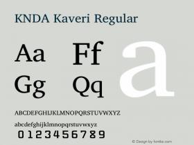 KNDA Kaveri