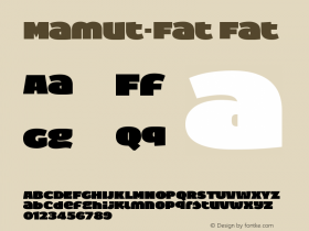 Mamut-Fat