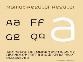 Mamut-Regular
