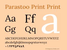 Parastoo Print