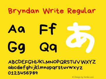 Bryndan Write