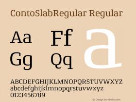 ContoSlabRegular