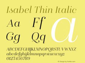 Isabel Thin
