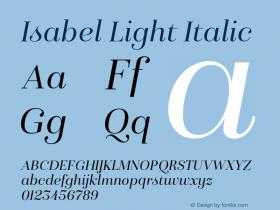Isabel Light
