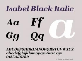 Isabel Black