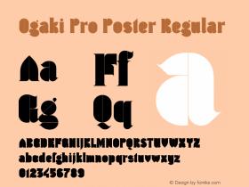 Ogaki Pro Poster