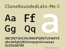 CloneRoundedLatn-Me