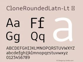 CloneRoundedLatn-Lt