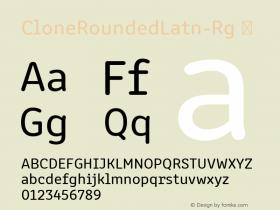 CloneRoundedLatn-Rg