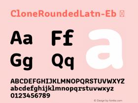 CloneRoundedLatn-Eb