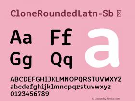 CloneRoundedLatn-Sb