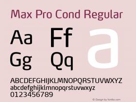 Max Pro Cond