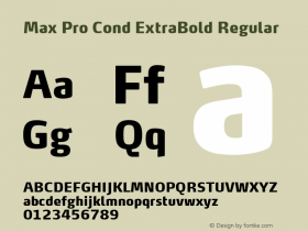 Max Pro Cond ExtraBold