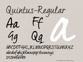 Quintus-Regular