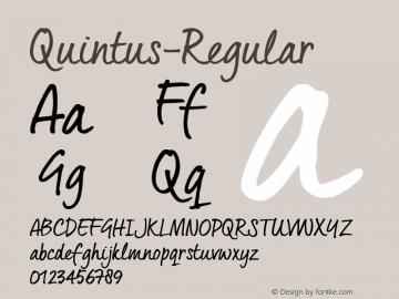 Quintus-Regular