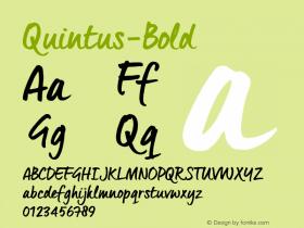 Quintus-Bold