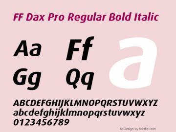 FF Dax Pro Regular