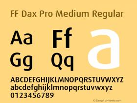 FF Dax Pro Medium
