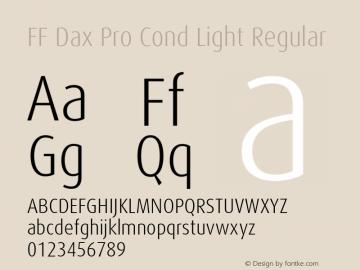 FF Dax Pro Cond Light