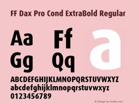 FF Dax Pro Cond ExtraBold