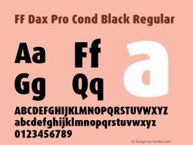 FF Dax Pro Cond Black