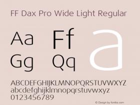 FF Dax Pro Wide Light