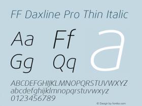 FF Daxline Pro Thin